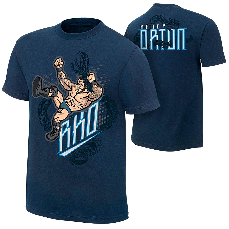 """Randy Orton """"Viper RKO"""" - Authentic T-Shirt   3 Count ..."""
