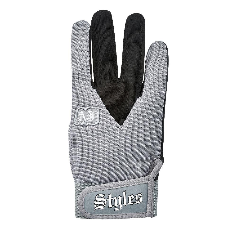 Aj Styles Grey Replica Gloves 3 Count Wrestling