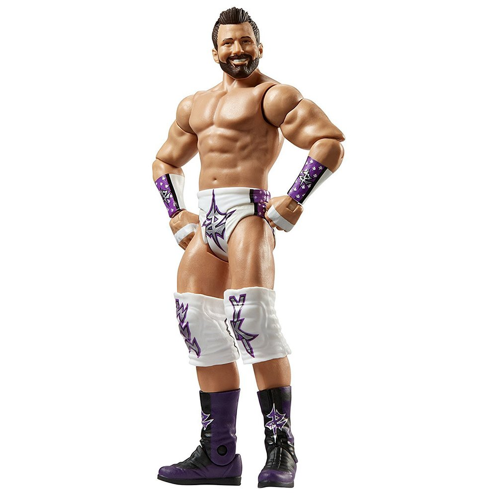 Basic Series 72 Zack Ryder Action Figure 3 Count