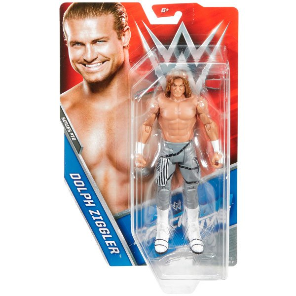 Mattel WWE Basic Series 76 Dolph Ziggler Carte non Comme neuf
