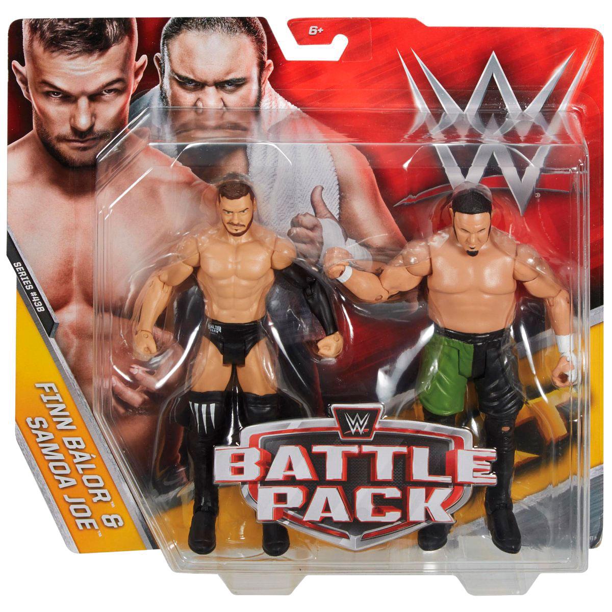 Battle Pack Series 43 Finn Balor Samoa Joe Action Figures 3