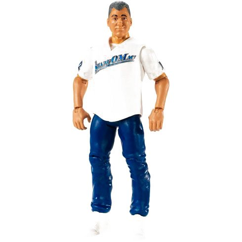 WWE WRESTLING BASIC SERIES #78 SHANE MCMAHON WITH MONEY IN THE BANK MATTEL