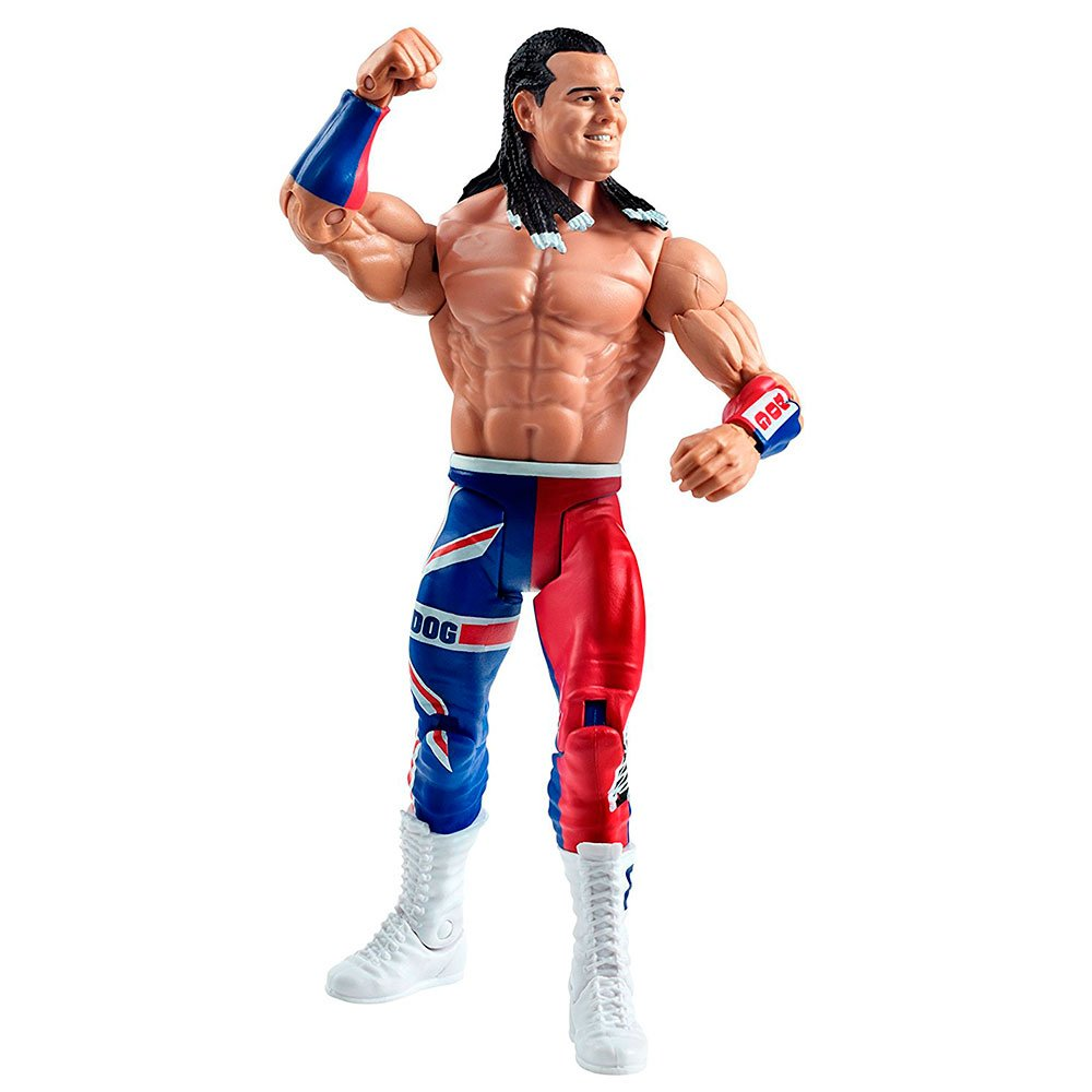 British Bulldog-Basic SummerSlam SERIES-WWE Mattel Wrestling Figure