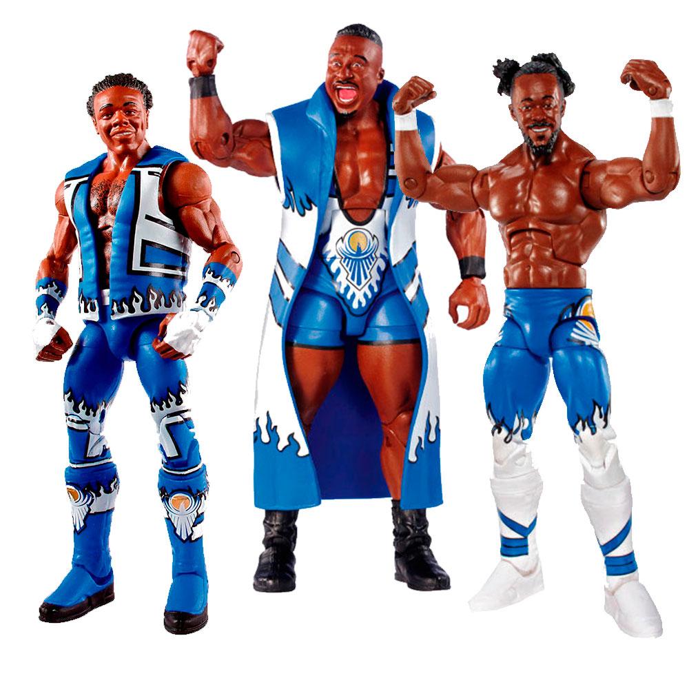 WWE KOFI KINGSTON NEW DAY 43 ELITE ACCESSORIES SERIES MATTEL WRESTLING FIGURE