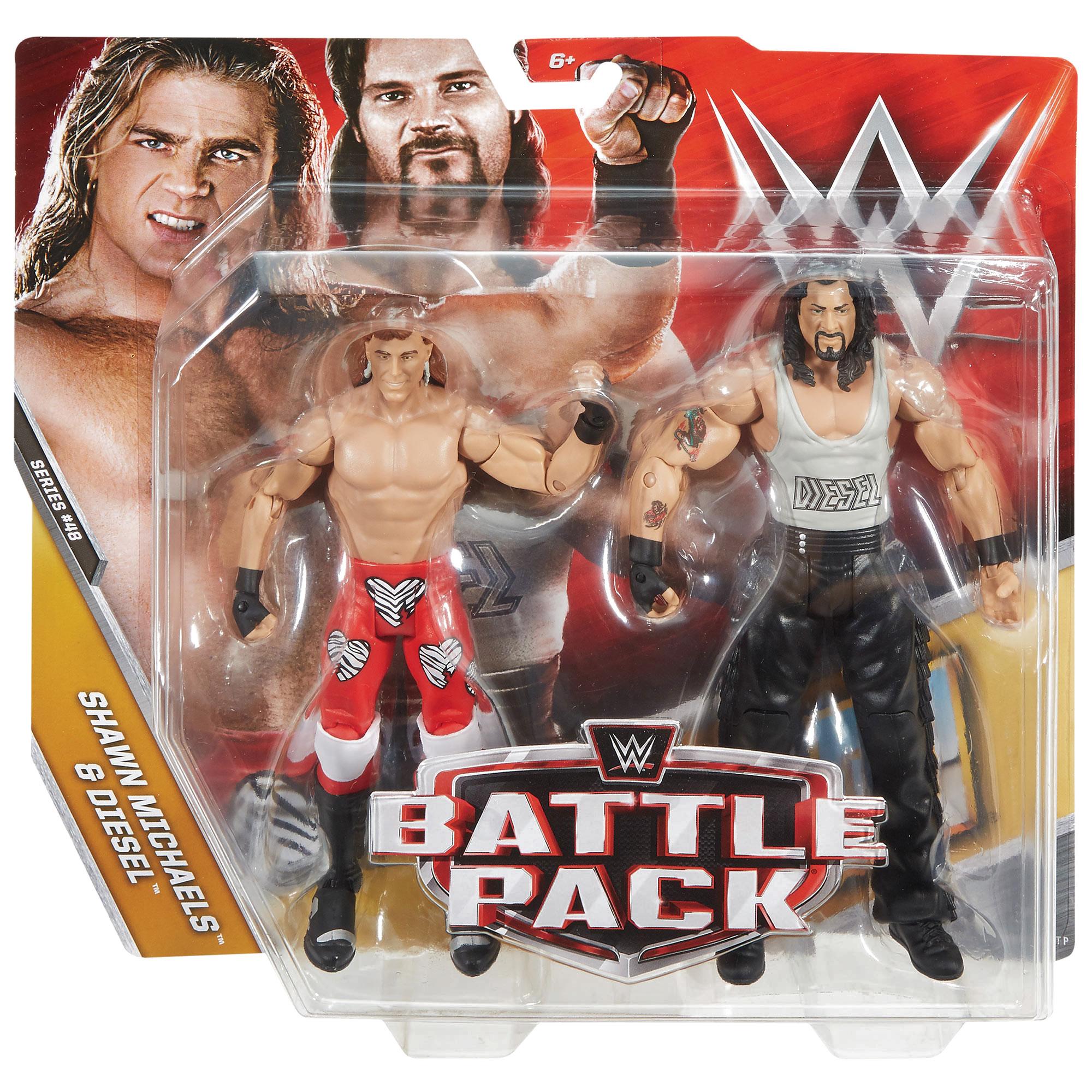 Battle Pack Series 48 Shawn Michaels Amp Diesel Action