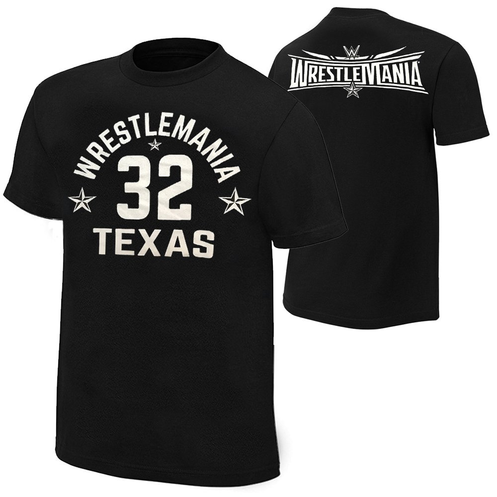 Buy Wwe Wrestlemania 32 Quot The Showcase Quot T Shirt 3 Count