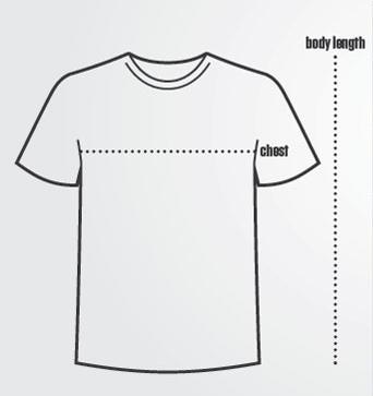 T-shirt Sizing Charts
