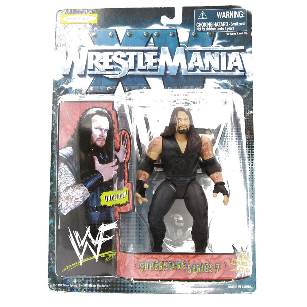 WWF WRESTLEMANIA XV Superstars Series 7-THE UNDERTAKER WRESTLING Figura WWE